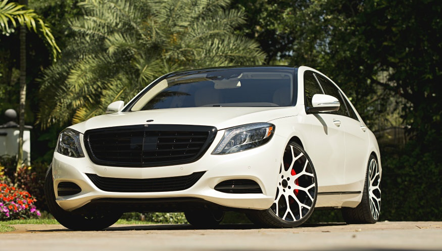 2014 Mercedes Benz S550 On Forgiato Wheels By Mc Customs
