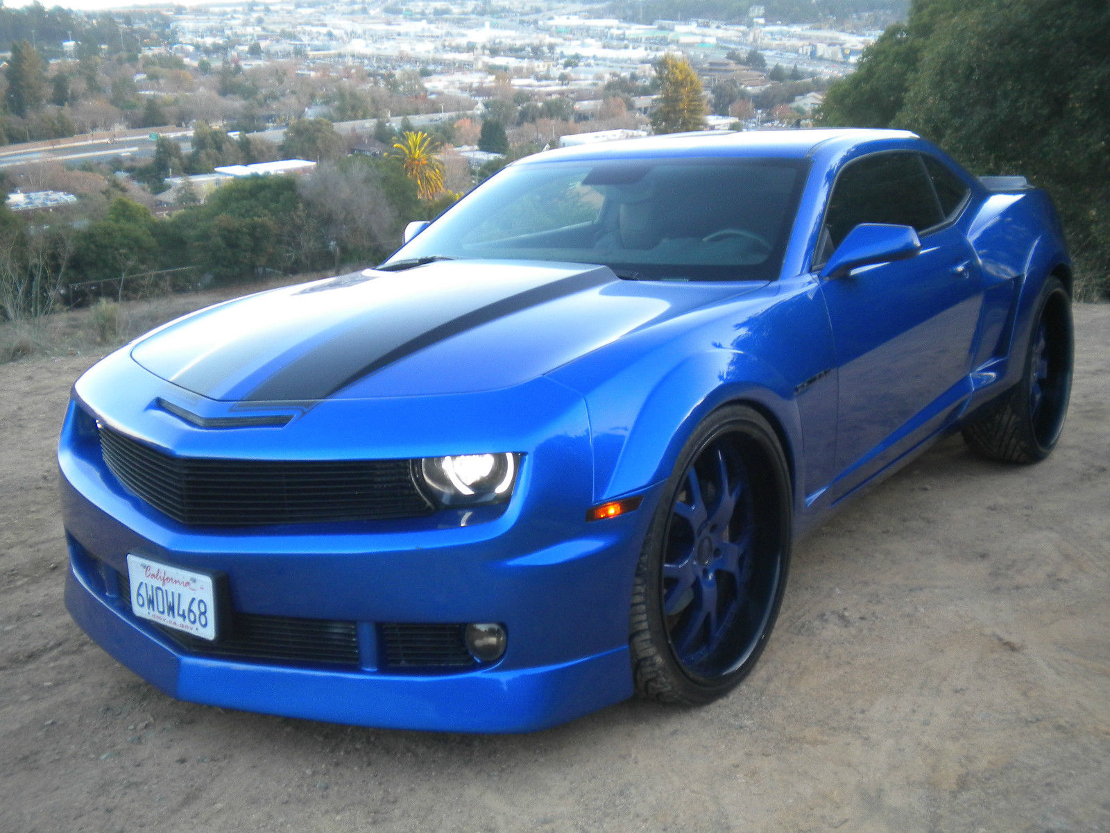 widebody camaro ss on asantis for sale friday rides. Black Bedroom Furniture Sets. Home Design Ideas
