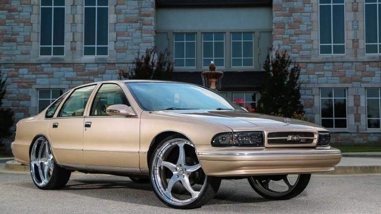 1996, Chevrolet, Caprice, Bubble, Forgiato