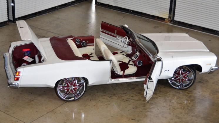 dlux kreationz damon luckey oldsmobile delta 88 custom oldschool diablo elite wheels rides magazine texas squat convertible