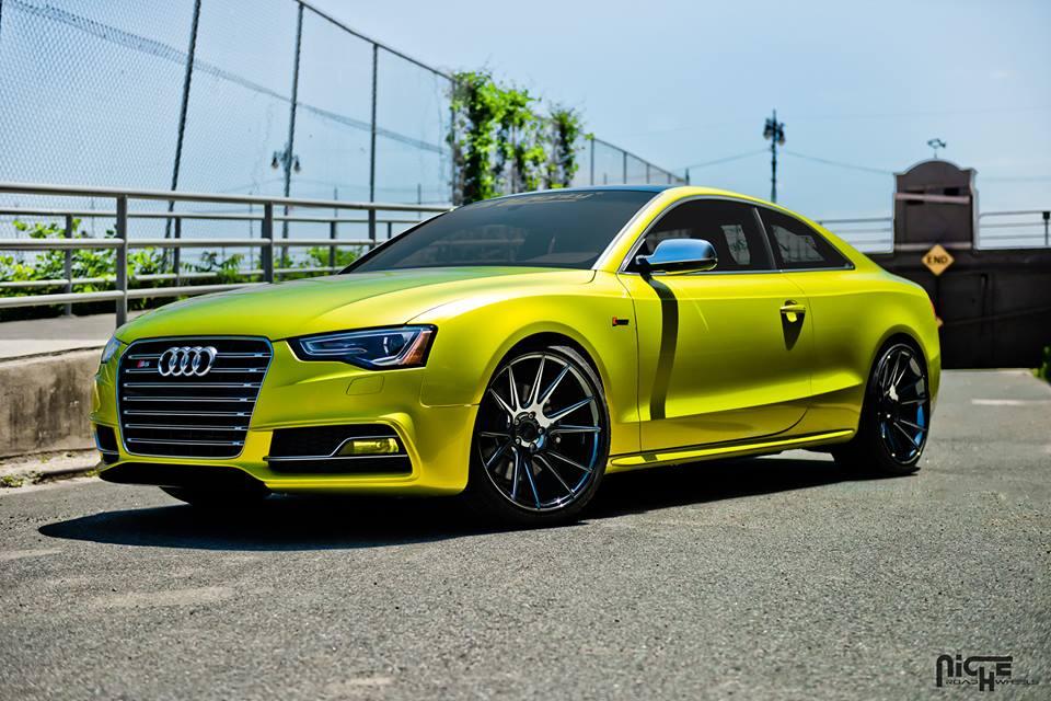 2014 Audi S5 On Niche Wheels Rides Magazine