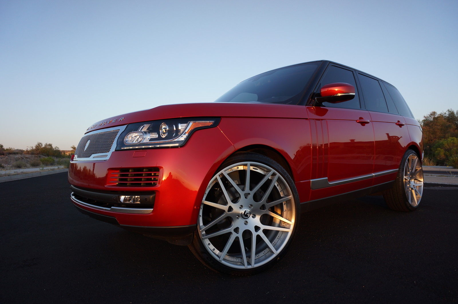 Lowrider Rims And Tires >> 2014 Supercharged Range Rover On 26 Inch Forgiatos | For Sale Friday - Rides Magazine