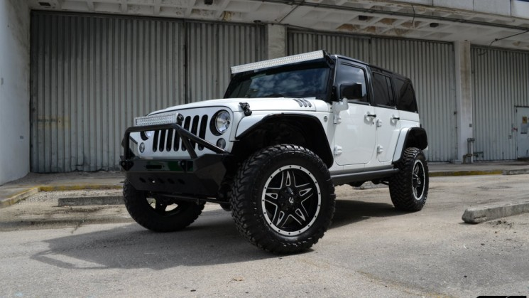 Jeep, Wrangler, MC Customs, White Sox, Fuel Wheels, Bellisario