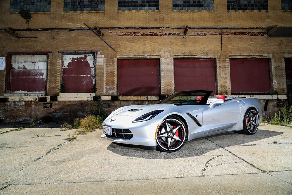 Convertible C7 Corvette On Forgiato Wheels Rides Magazine