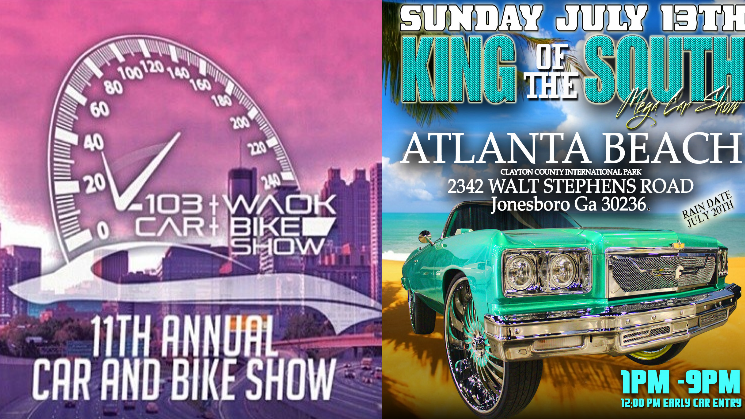 Atlanta To Host Two Major Car Shows This Weekend Rides Magazine - Car show atlanta ga