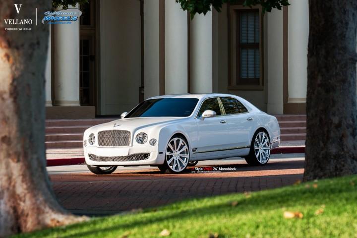Bentley Mulsanne On 24 Inch Vellano Wheels Rides Magazine