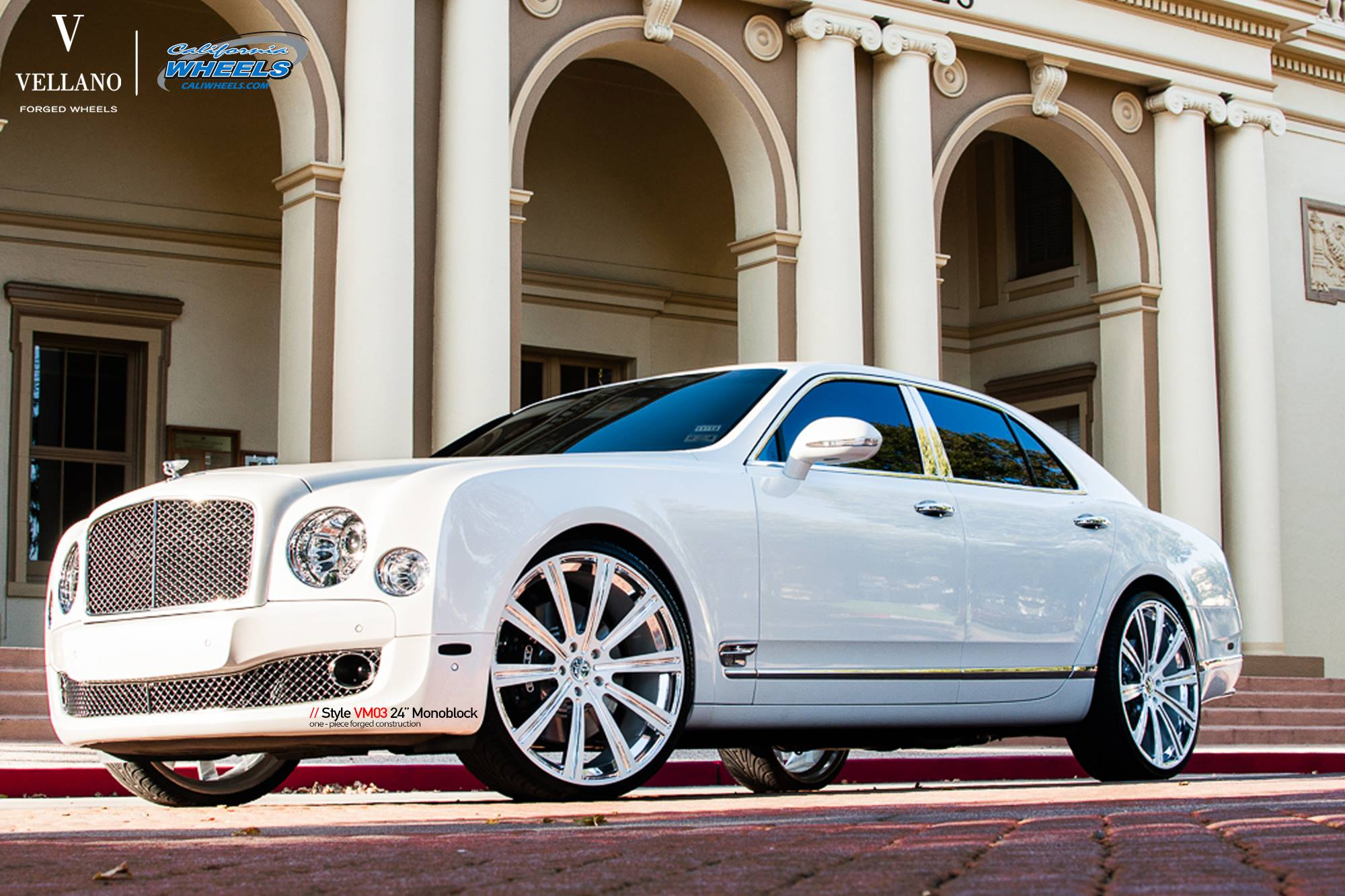 Bentley Mulsanne On 24 Inch Vellano Wheels Rides Magazine