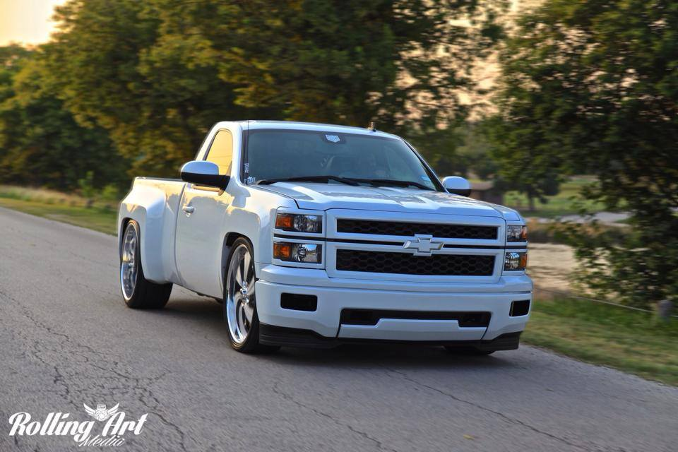 Widebody Chevy Silverado Rides Magazine
