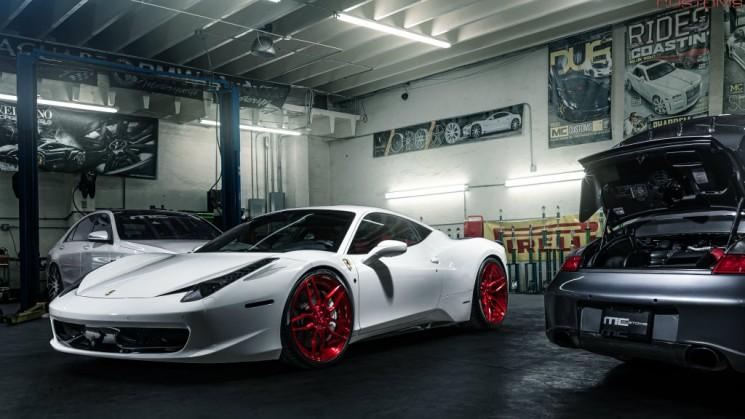 Ferrari, 458, Italia, ADV.1, MC Customs, RIDES