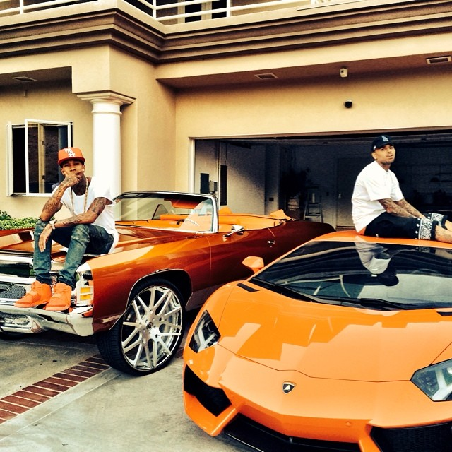 Chris Brown S Cars