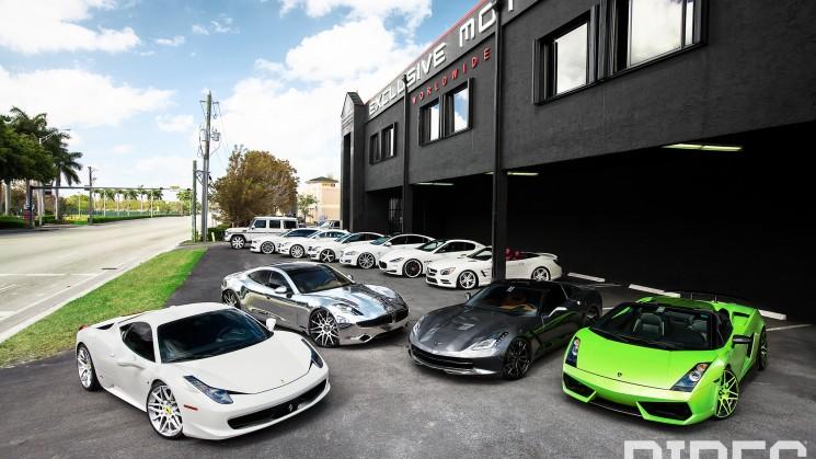 RIDES, Exclusive Motoring, Miami, Mercedes, BMW, Fisker, Lamborghini, Corvette